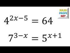 Función exponencial Teoría y ejemplo Matemáticas 4º ESO A AINTE - YouTube