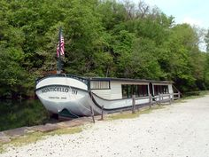 Erie Canal Boats | Description Restored canal boat, (Ohio and Erie Canal. Michigan). The Erie Canal is 365 miles long.