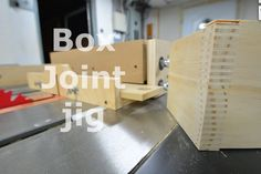 Past project 02 - Box joint jig