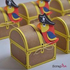 Resultado de imagem para scrap festa pirata Pirate Birthday, Pirate Theme, Baby Birthday, Leaf Crafts, Diy And Crafts, Crafts For Kids, Paper Crafts, Pirate Crafts, Creative Box