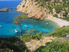 Cala Egos beach is situated in the municipality of Santanyi, at the south east part of Mallorca