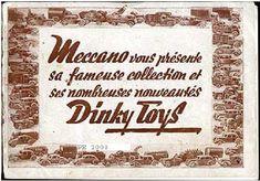 1939-es és 1949-es Dinky Toys katalógus - Retro játékmúzeum Retro Games, Toys, Blog, Blogging, Gaming, Games, Toy, Beanie Boos
