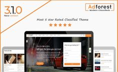 AdForest - Largest Classified WordPress theme for advertising