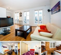Light and spacious 1-bedroom apartment for long-term rent on Rue de Berri in the 8th district of Paris. It is a comfortable accommodation in a good area of the city with excellent quality furnishings and functional home appliances.