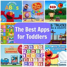 The Best Apps for Toddlers by The Mommy Games