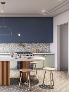 Fab Five, Kitchen Furniture, Kitchen Decor, Rustic Kitchen, Diy Kitchen, Layout Design, Old Kitchen Tables, Interior Design Kitchen, Kitchen Designs