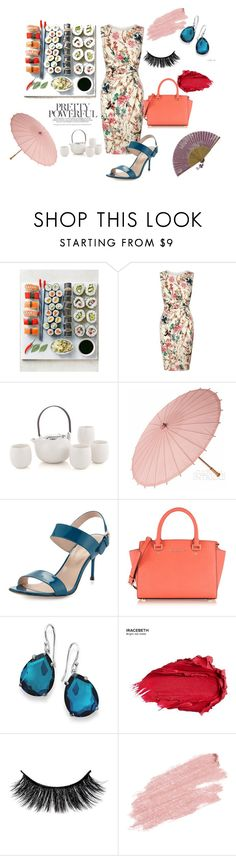 """""""Japanese Dinner"""" by yixingunicorn ❤ liked on Polyvore featuring Lipsy, Cultural Intrigue, Sergio Rossi, Michael Kors, Ippolita, Urban Decay and Jane Iredale"""