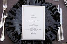 Red, black, & white wedding reception  |  The Frosted Petticoat