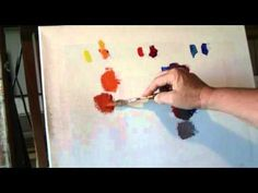Color Mixing Warm/Cool Palette http://beckyjoy.com http://www.youtube.com/user/beckyjoyartist?feature=mhee