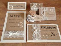 5 teiliges Set Vintage zur Hochzeit im Sparpreis