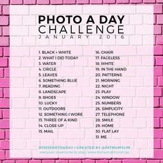 Photo A Day Challenge // January 2016 - Fat Mum Slim
