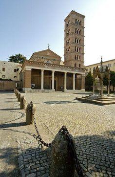 Lazio - Abbazia di San Nilo - Grottaferrata (RM) #TuscanyAgriturismoGiratola