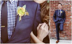 Groom Style - navy suits