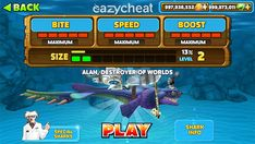 hungry shark evolution apk mod unlimited money and gems App Hack, Gaming Tips, Android Hacks, Game Update, Website Features, Test Card, Free Gems, Hack Online, Arcade Games