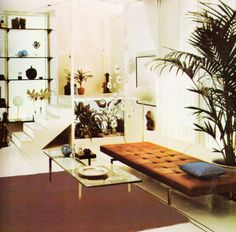Multi-level space, designed by Barbara D'arcy for #Bloomingdales in the early 70s.