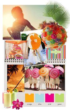 tropicana - wedding inspiration