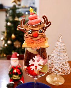 """まっきー on Instagram: """". . 愛知・中村区 【#カフェブル 】 @cafeblue0734 . . ☑︎トナカイパフェ🦌🎄˚✧ ◯苺、シャインマスカット ◯ストロベリーアイス、バニラアイス ◯白ぶどうゼリー ◯ガトーショコラ ◯モンブランクリーム ◯生クリーム、マカロン、クッキー、砂糖菓子 . .…"""" Global Cooling, Ice Cream, Christmas Ornaments, Holiday Decor, Instagram, Food, No Churn Ice Cream, Icecream Craft, Christmas Jewelry"""
