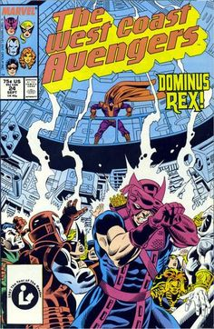 West Coast Avengers Vol. 2 # 24 by Al Milgrom & Mike Machlan