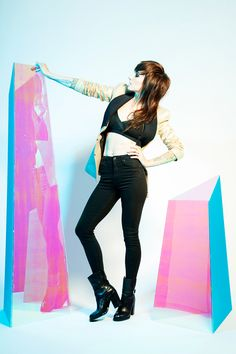 """Lights: Renewed And Shining Brighter Than Ever Before #refinery29  http://www.refinery29.com/2014/10/75898/lights-little-machines#slide1  What's the story behind choosing """"Portal,"""" a single-chord track, to kick off Little Machines?   """"With this record, I was trying a lot of different creative angles to find a spot that felt cool. That's what it took to get me out of this writer's block I had at the start. I ended up doing a lot of therapeutic creative exercises to get out of it. One of those…"""