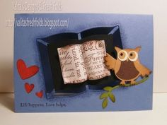 A2 Pop Out Book Card - YouTube