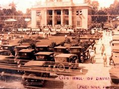 The Old City Hall (formerly the Municipal Building) was constructed in some ten years before Davao finally became a city. Filipino Architecture, President Of The Philippines, Fleet Of Ships, Temple In Jerusalem, Philippine Holidays, Davao, Baguio, What A Wonderful World, Environmental Science