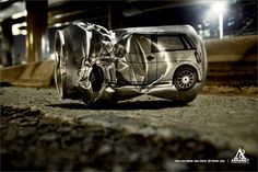 Drinking & Driving Ad