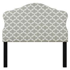 Samuel Lawrence DS-8950-532G Molly Full Upholstered Headboard in Grey