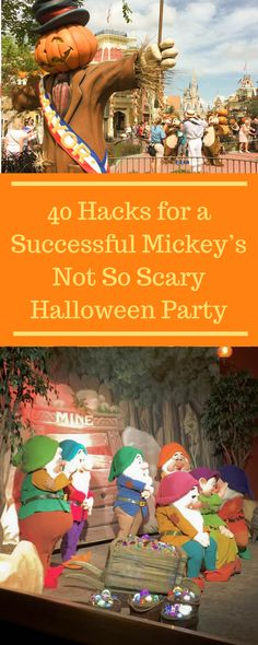 disney halloween - The 40 Essential Hacks You Need for Mickey's Not So Scary Halloween Party - The Rendezvous Spot - Halloween Tags, Disney Halloween Parties, Disney World Halloween, Halloween School Treats, Scary Halloween Costumes, Easy Halloween, Halloween Witches, Family Halloween, Halloween 2019