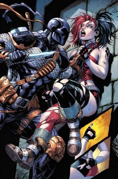 Deathstroke v Harley Quinn Dc Deathstroke, Deathstroke The Terminator, Deadshot, Marvel Wolverine, Marvel Dc, Gotham, Of Wolf And Man, Joker Und Harley Quinn, Univers Dc