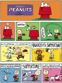 Peanuts on Gocomics.com--need this framed in my kitchen