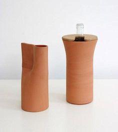 Fresca jarra de terracota-COLOR COMMUNITY-CLAY