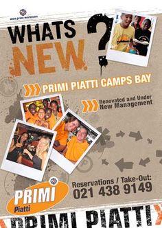 Flyer for Primi Piatta