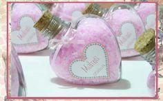 10 Souvenirs Sales Aromáticas En Original Envase Corazón - $ 180,00 en MercadoLibre