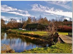 Spring in historic village near Lublin, Poland / Muzeum of Polish Village in Lublin region