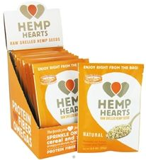 Buy Manitoba Harvest - Hemp Hearts Natural Raw Shelled Hemp Seed - 12 Packet(s) at LuckyVitamin.com