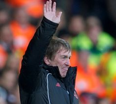 Kenny Dalglish salutes the Kop who serenade him on his 60th birthday