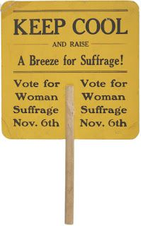Isn't it hard to imagine that 100 years ago women couldn't vote?