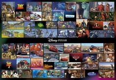 DG-2000-535 Tenyo Disney Pixar Characters Collection Jigsaw Puzzle