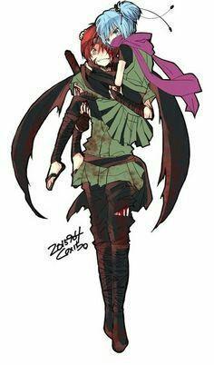 Karma Akabane x Nagisa Shiota Karma Kun, Nagisa And Karma, Anime Meme, Art Manga, Manga Anime, Assassination Classroom Karma, Koro Sensei, Nagisa Shiota, Mundo Comic