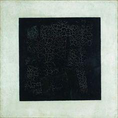 Kazimir Malevich Black Square 1913, © State Tretyakov Gallery, Moscow