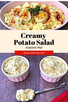 Easy Pressure Cooker Recipes, Instant Pot Pressure Cooker, Delicious Dinner Recipes, Healthy Recipes, Southern Style Potato Salad, Steamed Eggs, Creamy Potato Salad, Country Cooking, Weeknight Dinners