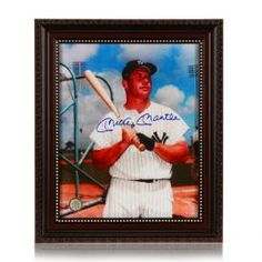 Mickey Mantle New York Yankees signed Autographed Photo gfa coa