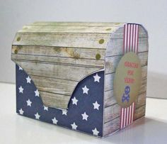 Caja cofre para souvenir cumple infantil