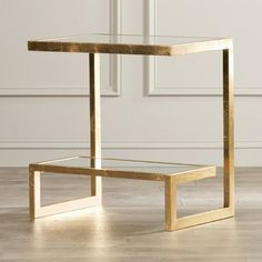 Rex Glass Top Sled End Table with Storage - Modern Diy End Tables, Glass End Tables, End Tables With Storage, Side Tables, Home Furniture, Modern Furniture, Basement Furniture, Consoles, Pecan Cobbler