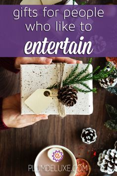 The best gifts for people who like to entertain are ones that make the entertaining even easier. Here are some fun and simple ideas. Make Your Own, Make It Yourself, Tea Gifts, Appreciation Gifts, Hostess Gifts, Some Fun, Cool Gifts, Special Occasion, Anniversary
