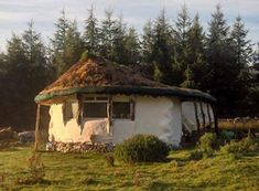Straw bale house in scotland