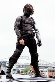 Bucky and his glorious thighs