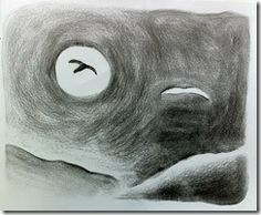 Age 12 ~ Drawing ~ Charcoal ~ Composition