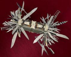Уникальный многофункциональный нож 1880 года, Джон С. Хеллер (1)