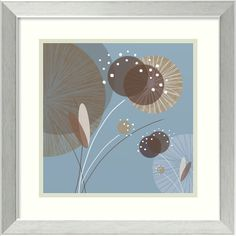 'Blue Breeze I' by Christina Mitchell Framed Art Print